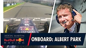 David Coulthard en Albert Park