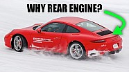 Why is the Porsche 911 rear-engine?