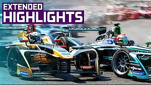Extended race highlights | Antofagasta Minerals Santiago E-Prix
