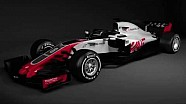 Haas F1 Team, VF-18'i tanıtıyor