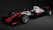 Presentación del nuevo VF-18  de Haas F1 Team 2018