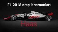 F1 2018 - Haas VF-18 tanıtıldı