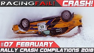 Rally Sweden 2018 preview crash compilation week 7 February | Racingfail