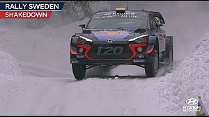 Rally Sweden shakedown - Hyundai Motorsport 2018