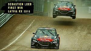 Primer triunfo de Sebastien Loeb | Letonia RX 2016