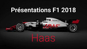 Présentations F1 2018 - Haas