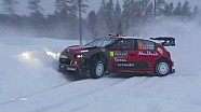 2018 rally Sweden recap clip Sunday 1