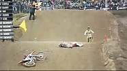 Tim Gajser crasht zwaar tijdens testwedstrijd Mantova