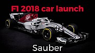 F1 2018 Car Launches: Sauber