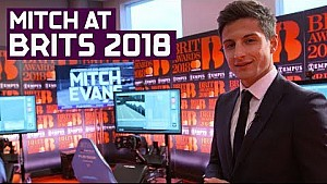 Mitch Evans vs Brits 2018! ABB Formula E real racing challenge