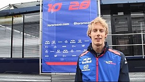 Tour en la F1 por Brendon Hartley