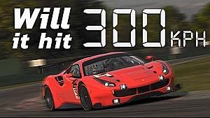 iRacing | Can a GT3 car hit 300Kph?