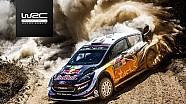 Les spéciales 14-19 du Rallye du Mexique