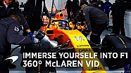 De test van McLaren in 360 graden