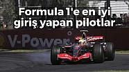 F1 kariyerine en iyi başlangıç yapan pilotlar