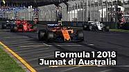 Highlights Free Practice Jumat GP Australia - F1 2018