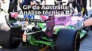 GP da Austrália - Análise técnica #2