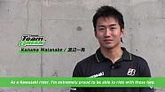 Kawasaki official rider line up for Suzuka 8h, Kazuma Watanabe