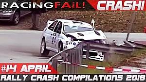 Rally crash compilation week 14 April 2018