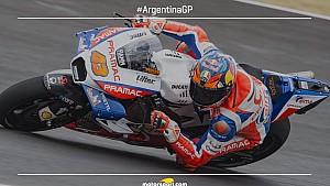 La grille du départ du GP d'Argentine