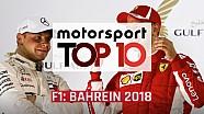 Top 10 momentos GP de Bahrein 2018 F1