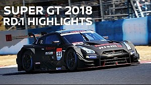 Super GT 2018: race highlights rd. 1 Okayama