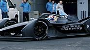 BMW iFE.18 por primera vez en acción
