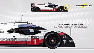 Így alakult át a Porsche 919 Evo