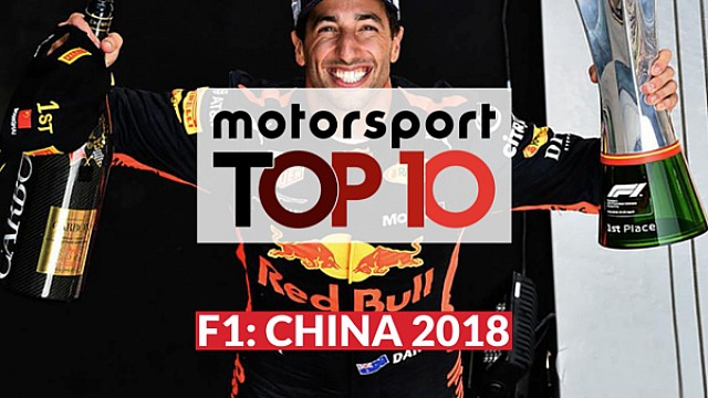 El Top10 del GP de China de Fórmula 1 LAT