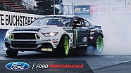 Vaughn Gittin Jr. will drift the Nurburgring in a Ford Mustang RTR
