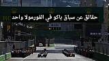 حقائق عن سباق باكو في أذربيجان