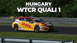 Hungary quali 1 highlights with Tom Coronel in the Honda Civic