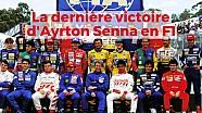 La dernière victoire d'Ayrton Senna en F1