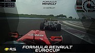 Formula Renault Eurocup - round 1 - race 2 - Paul Ricard - onboards