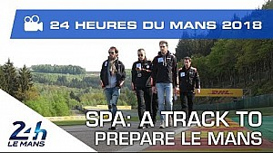 Spa-Francorchamps, a good track to prepare Le Mans?