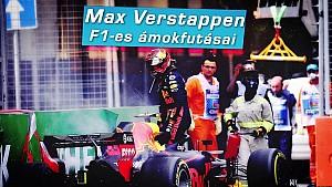 Max Verstappen F1-es ámokfutásai