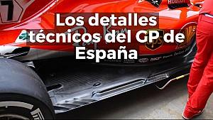 Las mejoras técnicas del GP de España de F1 2018 ESP