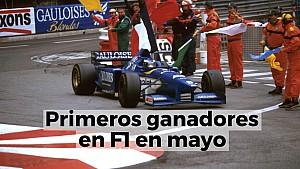 Racing Stories: primeros ganadores en F1 en mayo
