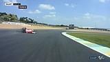 Kecelakaan Andrea Dovizioso saat memimpin | MotoGP Prancis