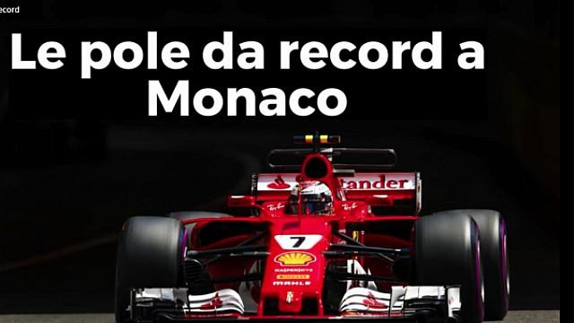 Formula 1 Video: le pole da record del GP di Monaco di F1