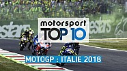 Top 10 - Grand Prix d'Italie