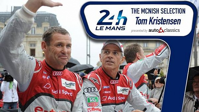 McNish-Selection: Tom Kristensen