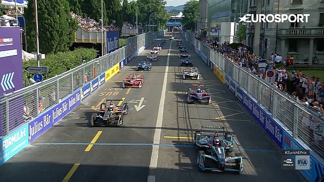 Highlights: Formel E in Zürich