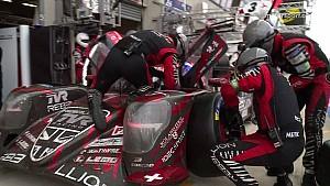 24 Heures du Mans 2018 - Arrêt au stand de la Rebellion Racing #1