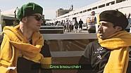 Hülkenberg et Sainz s'essaient au français !