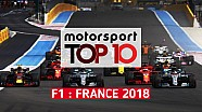Top 10 - Grand Prix de France