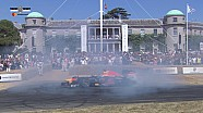 Red Bull RB8 en el Goodwood FOS